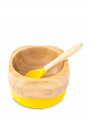 Bowl & Spoon set in Yellow