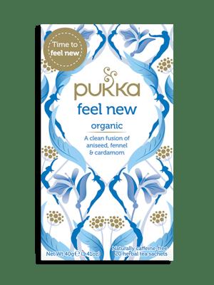 Feel New, Organic Herbal Tea with Aniseed, Fennel & Cardamom, 20 Teabags