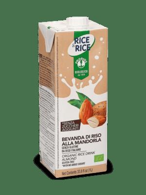 Rice Drink Almond 1ltr