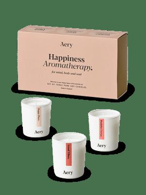 Happiness Candle 3 x Gift Set