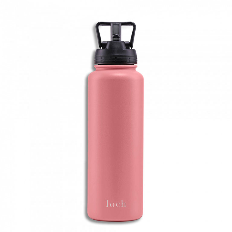 Copper insulated stainless steel bottle The Mighty – 1200ml (40 Oz) (Blush Pink)